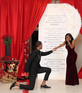man propose with 6 rings to let his fiancee decide